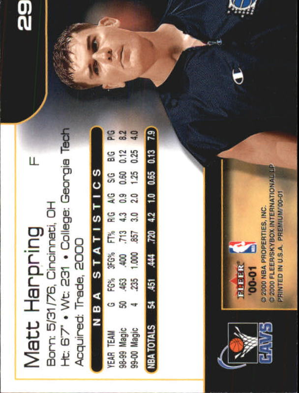 2000-01-Fleer-Premium-Basketball-Cards-Pick-From-List thumbnail 57