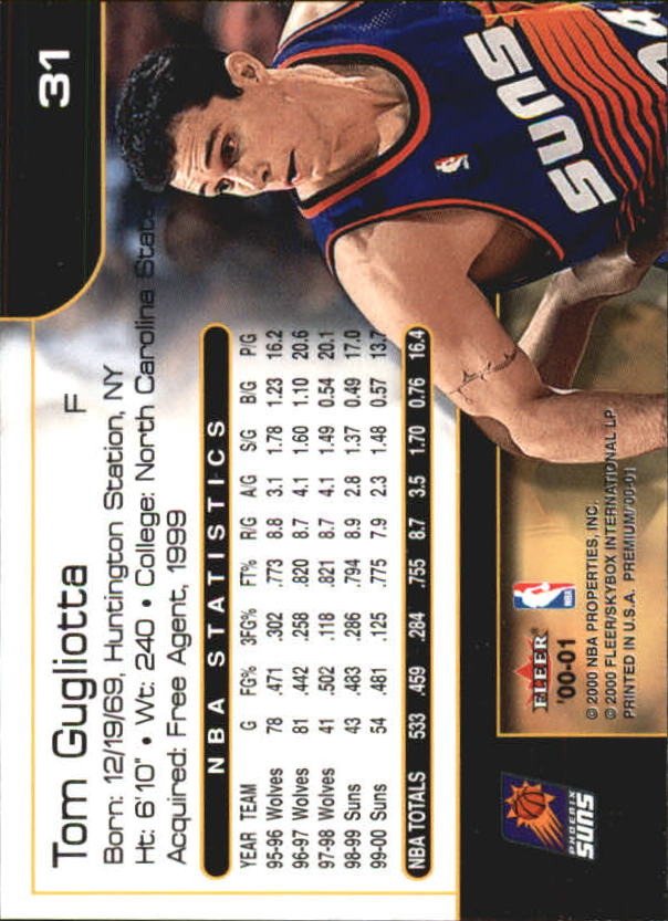 2000-01-Fleer-Premium-Basketball-Cards-Pick-From-List thumbnail 61