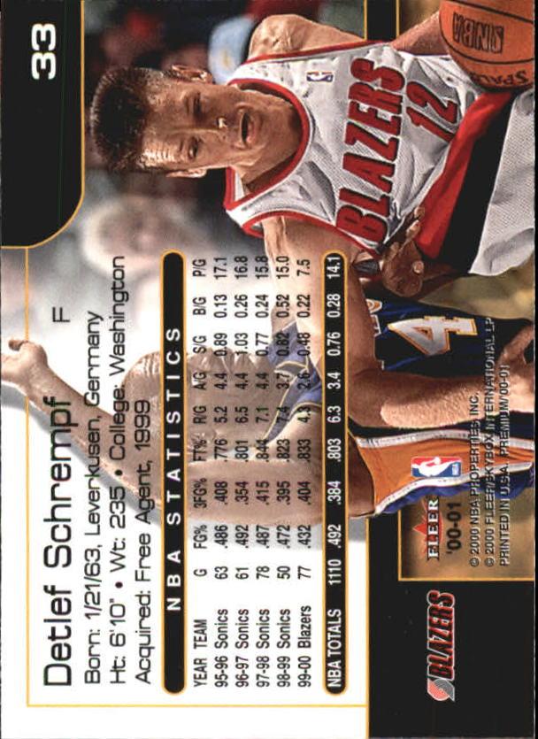 2000-01-Fleer-Premium-Basketball-Cards-Pick-From-List thumbnail 65