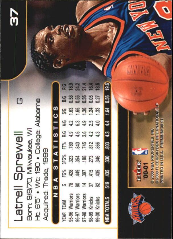 2000-01-Fleer-Premium-Basketball-Cards-Pick-From-List thumbnail 73