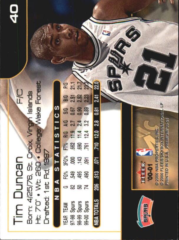 2000-01-Fleer-Premium-Basketball-Cards-Pick-From-List thumbnail 79