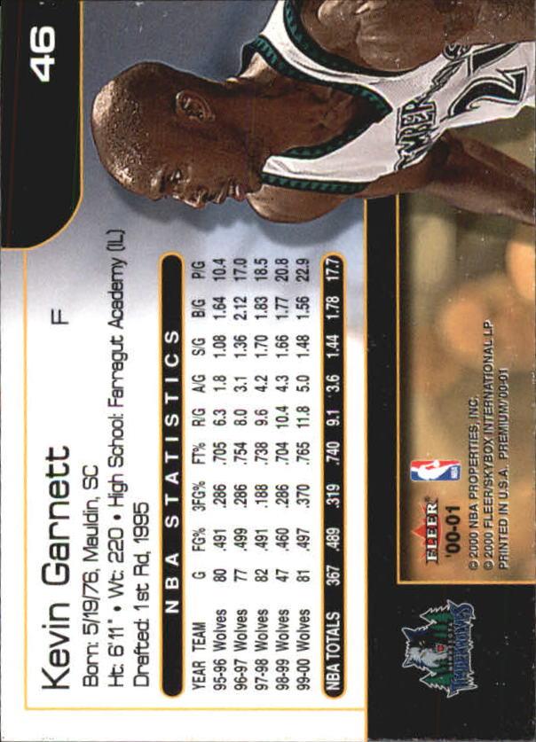 2000-01-Fleer-Premium-Basketball-Cards-Pick-From-List thumbnail 91