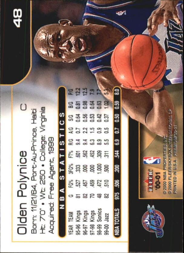 2000-01-Fleer-Premium-Basketball-Cards-Pick-From-List thumbnail 95