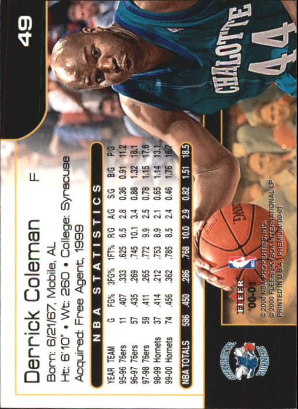 2000-01-Fleer-Premium-Basketball-Cards-Pick-From-List thumbnail 97