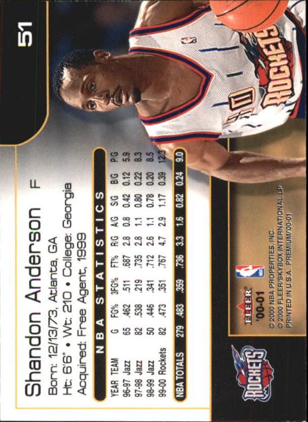 2000-01-Fleer-Premium-Basketball-Cards-Pick-From-List thumbnail 101