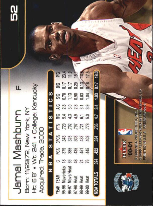 2000-01-Fleer-Premium-Basketball-Cards-Pick-From-List thumbnail 103