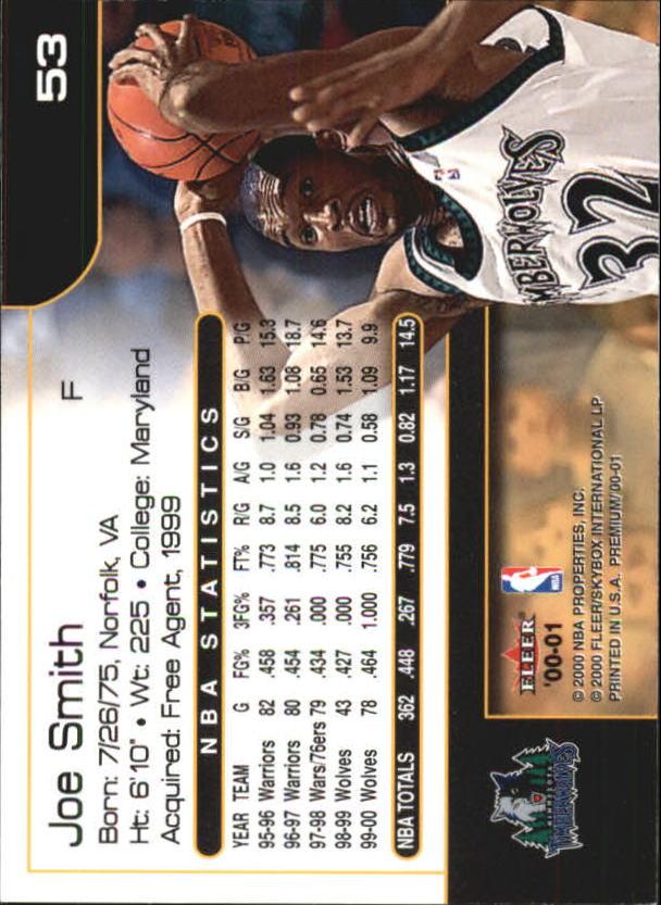 2000-01-Fleer-Premium-Basketball-Cards-Pick-From-List thumbnail 105