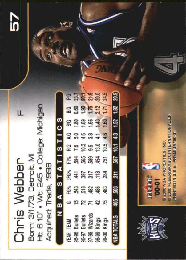 2000-01-Fleer-Premium-Basketball-Cards-Pick-From-List thumbnail 113