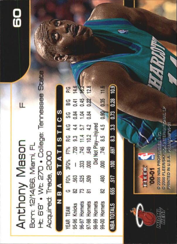 2000-01-Fleer-Premium-Basketball-Cards-Pick-From-List thumbnail 119