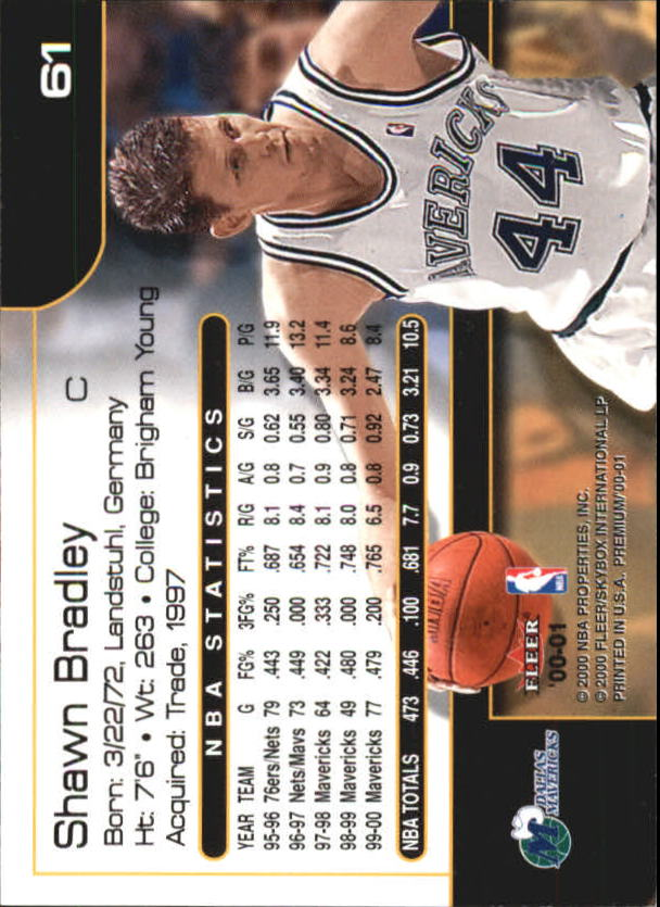 2000-01-Fleer-Premium-Basketball-Cards-Pick-From-List thumbnail 121