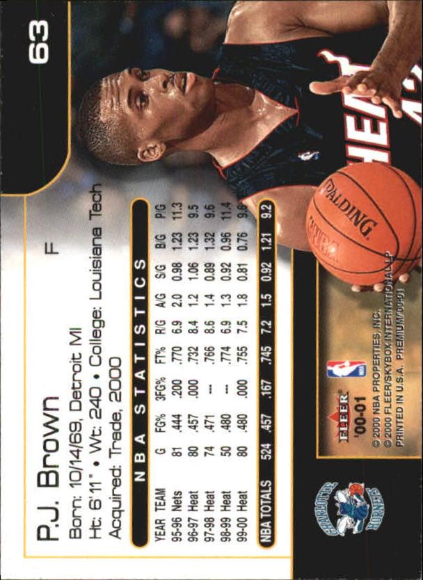 2000-01-Fleer-Premium-Basketball-Cards-Pick-From-List thumbnail 125