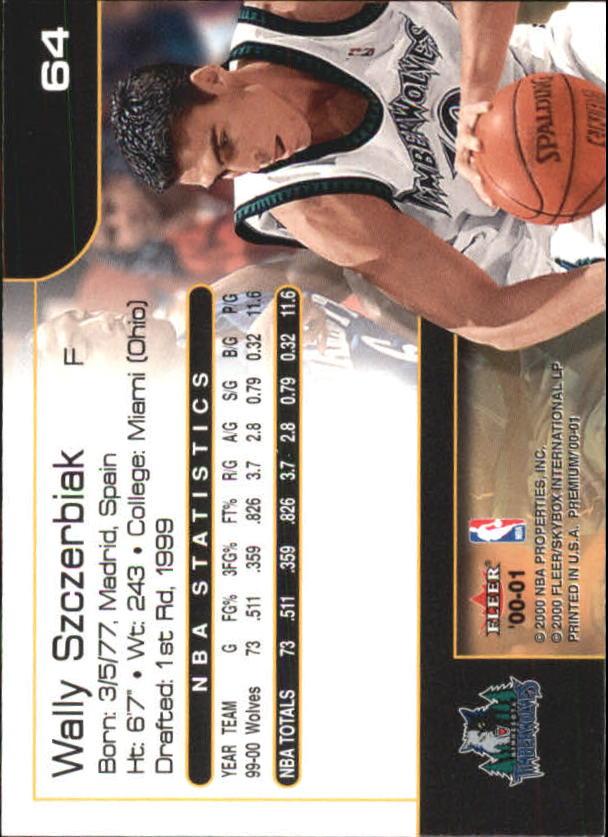 2000-01-Fleer-Premium-Basketball-Cards-Pick-From-List thumbnail 127