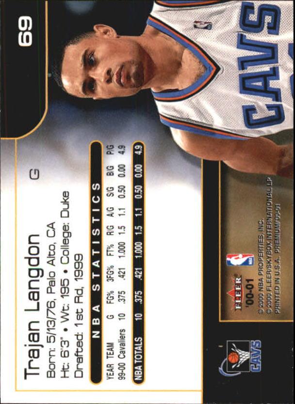 2000-01-Fleer-Premium-Basketball-Cards-Pick-From-List thumbnail 137