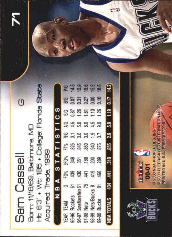 2000-01-Fleer-Premium-Basketball-Cards-Pick-From-List thumbnail 141