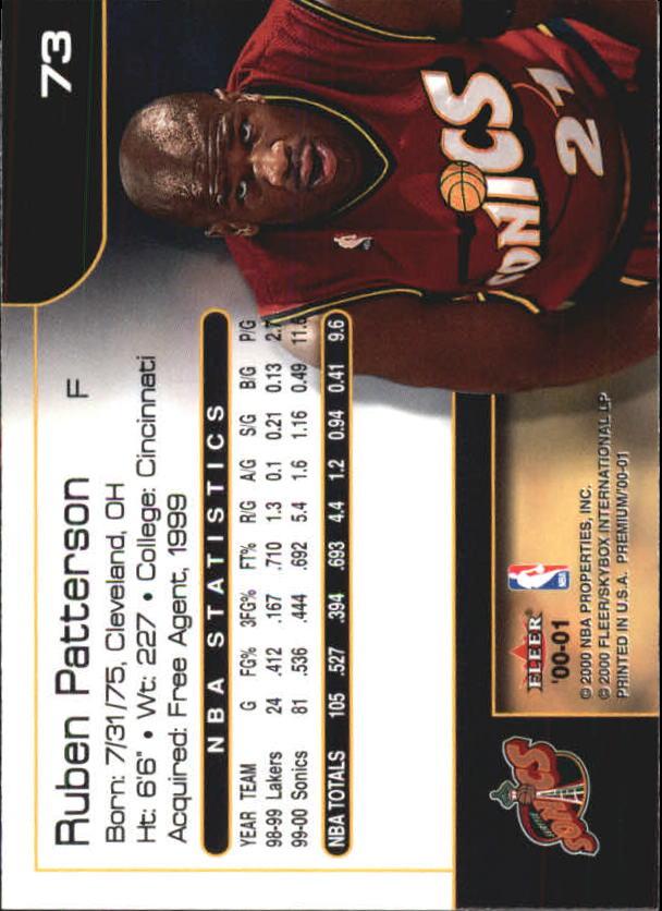 2000-01-Fleer-Premium-Basketball-Cards-Pick-From-List thumbnail 145
