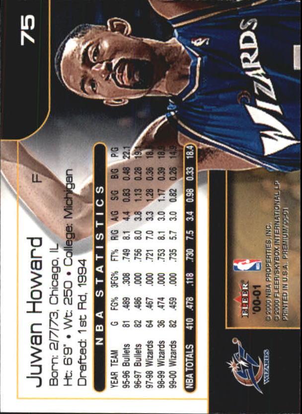 2000-01-Fleer-Premium-Basketball-Cards-Pick-From-List thumbnail 149