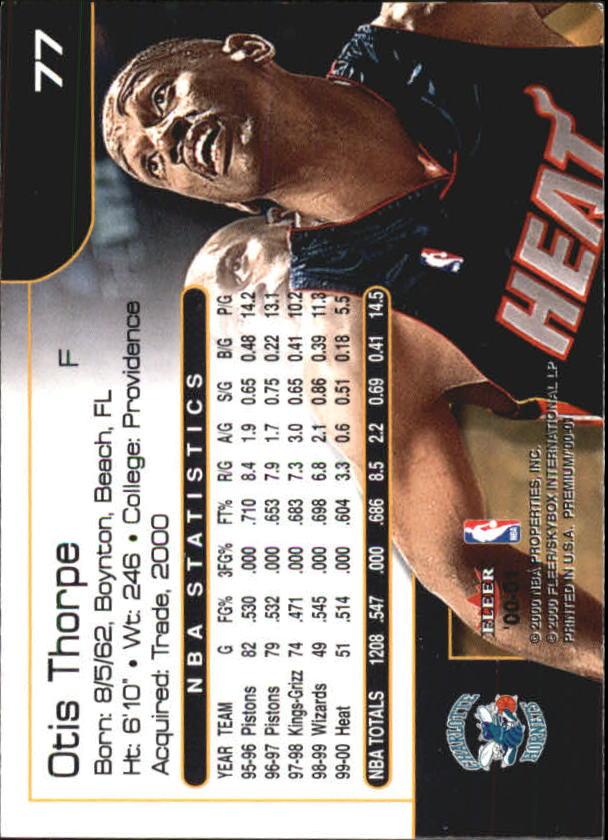 2000-01-Fleer-Premium-Basketball-Cards-Pick-From-List thumbnail 153