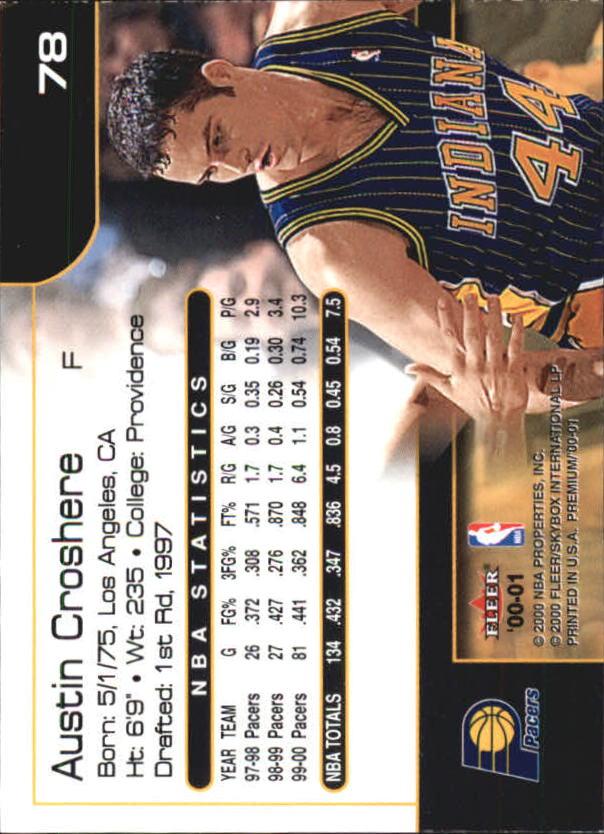 2000-01-Fleer-Premium-Basketball-Cards-Pick-From-List thumbnail 155
