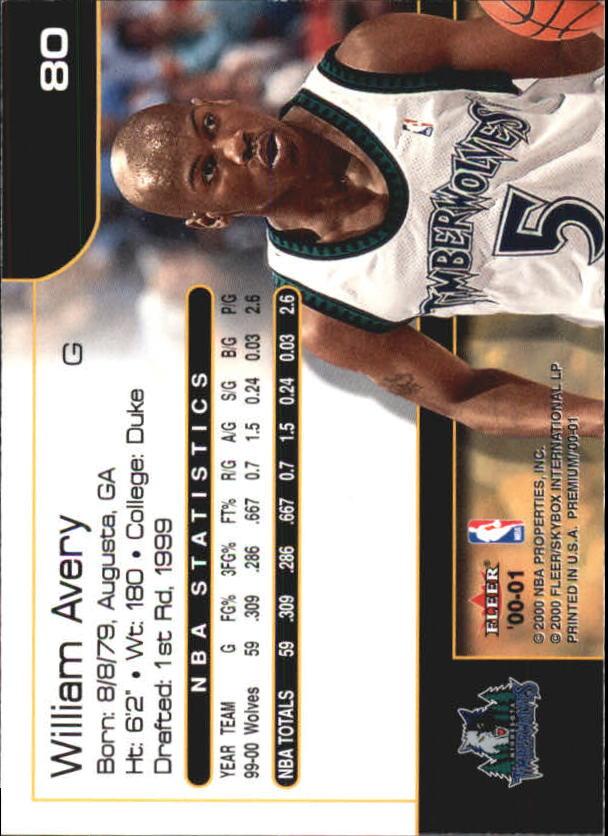 2000-01-Fleer-Premium-Basketball-Cards-Pick-From-List thumbnail 159