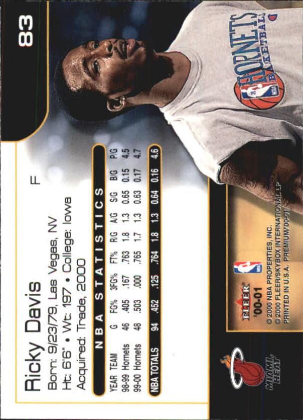 2000-01-Fleer-Premium-Basketball-Cards-Pick-From-List thumbnail 165