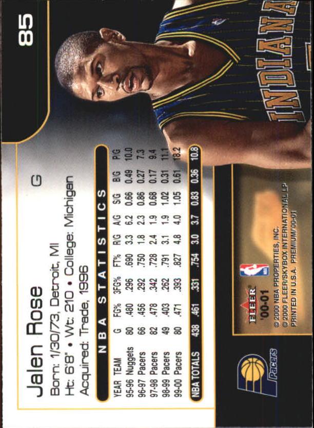 2000-01-Fleer-Premium-Basketball-Cards-Pick-From-List thumbnail 169