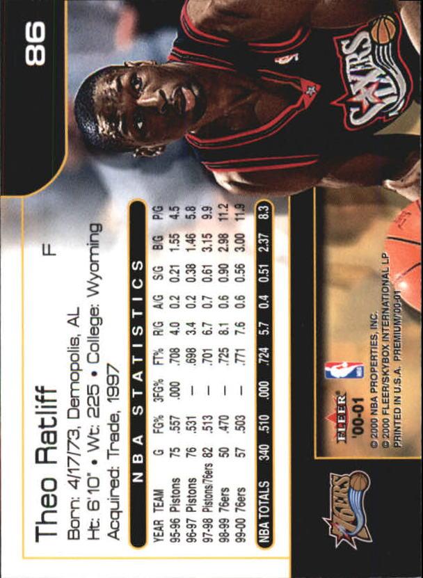 2000-01-Fleer-Premium-Basketball-Cards-Pick-From-List thumbnail 171