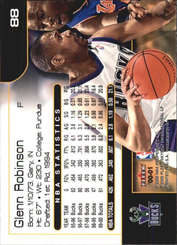 2000-01-Fleer-Premium-Basketball-Cards-Pick-From-List thumbnail 175