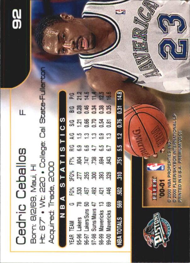 2000-01-Fleer-Premium-Basketball-Cards-Pick-From-List thumbnail 183