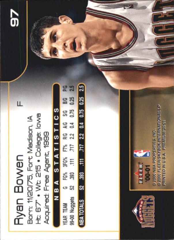 2000-01-Fleer-Premium-Basketball-Cards-Pick-From-List thumbnail 193