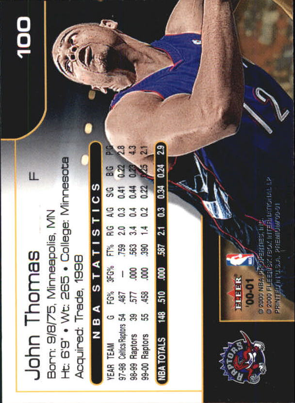 2000-01-Fleer-Premium-Basketball-Cards-Pick-From-List thumbnail 199