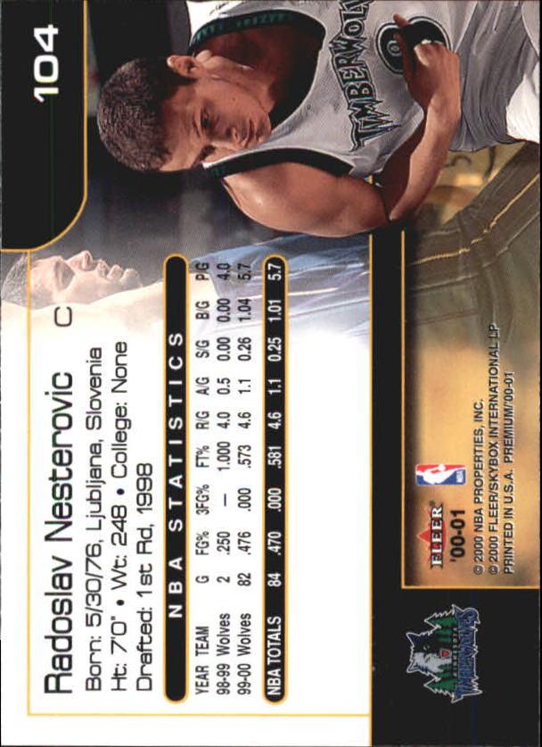 2000-01-Fleer-Premium-Basketball-Cards-Pick-From-List thumbnail 207