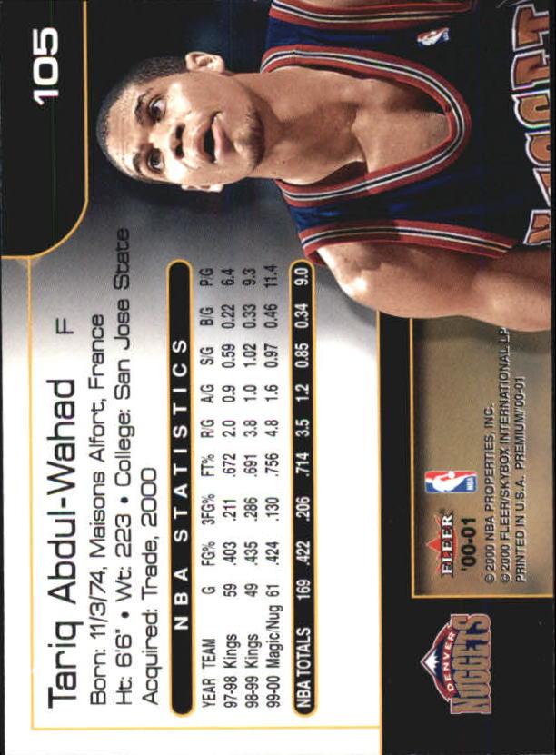 2000-01-Fleer-Premium-Basketball-Cards-Pick-From-List thumbnail 209
