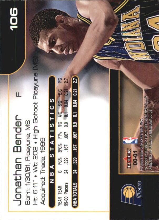2000-01-Fleer-Premium-Basketball-Cards-Pick-From-List thumbnail 211