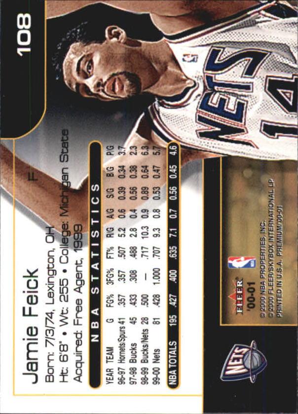 2000-01-Fleer-Premium-Basketball-Cards-Pick-From-List thumbnail 215