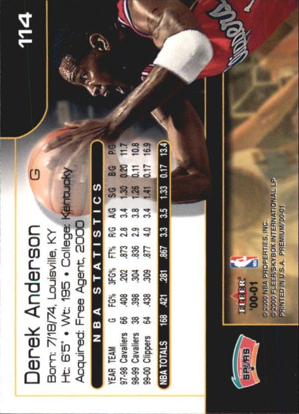 2000-01-Fleer-Premium-Basketball-Cards-Pick-From-List thumbnail 227