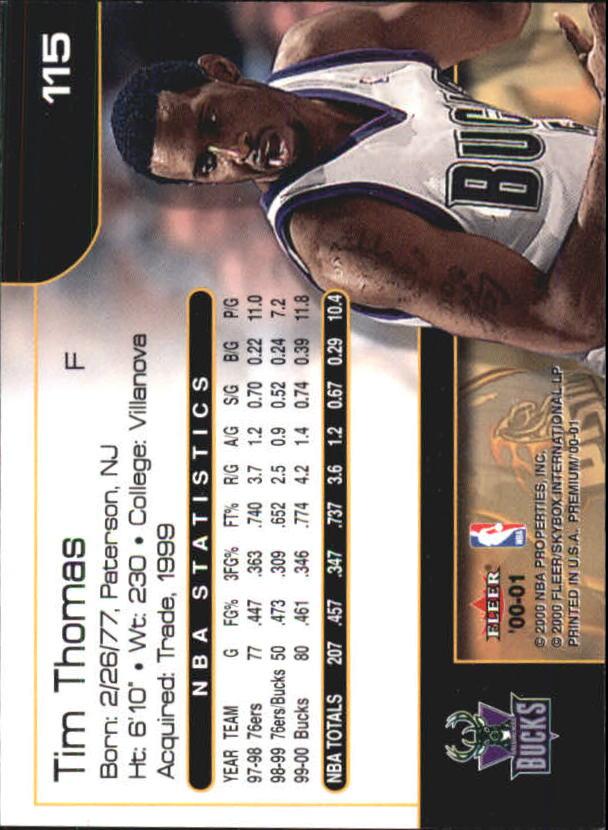2000-01-Fleer-Premium-Basketball-Cards-Pick-From-List thumbnail 229
