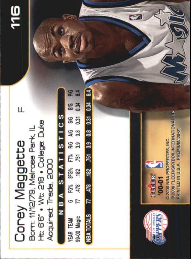 2000-01-Fleer-Premium-Basketball-Cards-Pick-From-List thumbnail 231