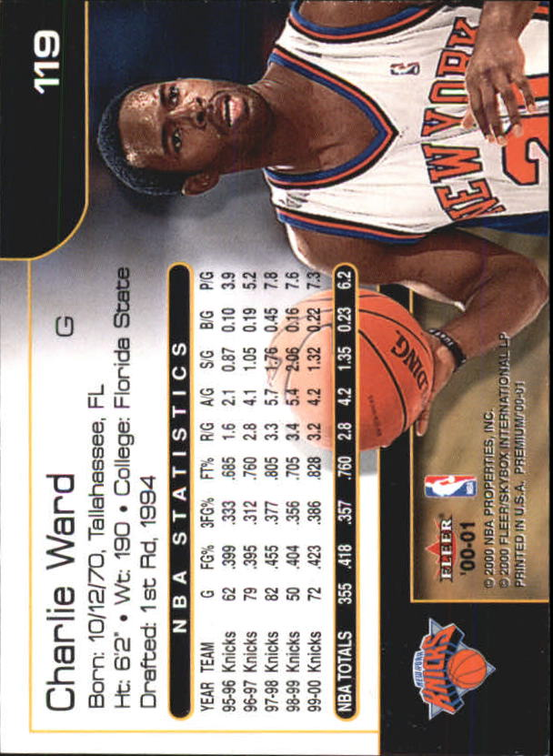 2000-01-Fleer-Premium-Basketball-Cards-Pick-From-List thumbnail 237