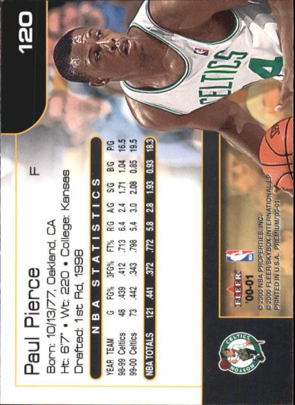 2000-01-Fleer-Premium-Basketball-Cards-Pick-From-List thumbnail 239