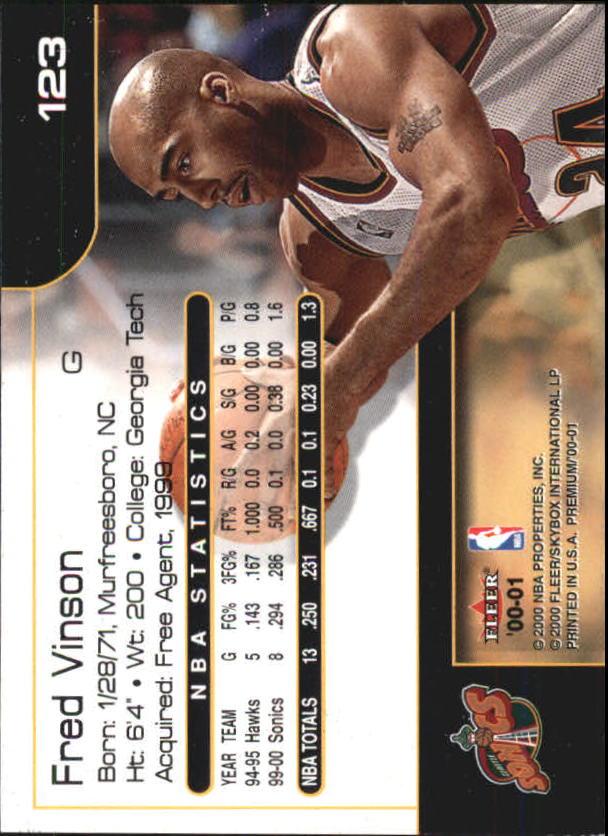2000-01-Fleer-Premium-Basketball-Cards-Pick-From-List thumbnail 245