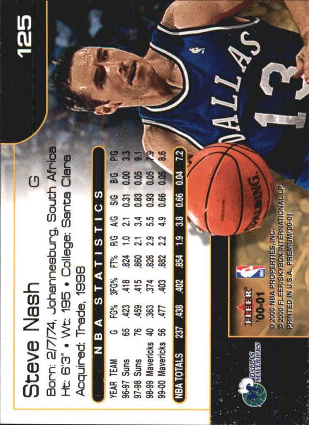 2000-01-Fleer-Premium-Basketball-Cards-Pick-From-List thumbnail 249