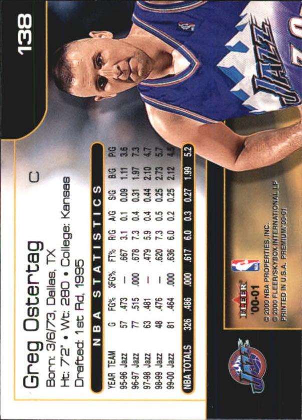 2000-01-Fleer-Premium-Basketball-Cards-Pick-From-List thumbnail 271