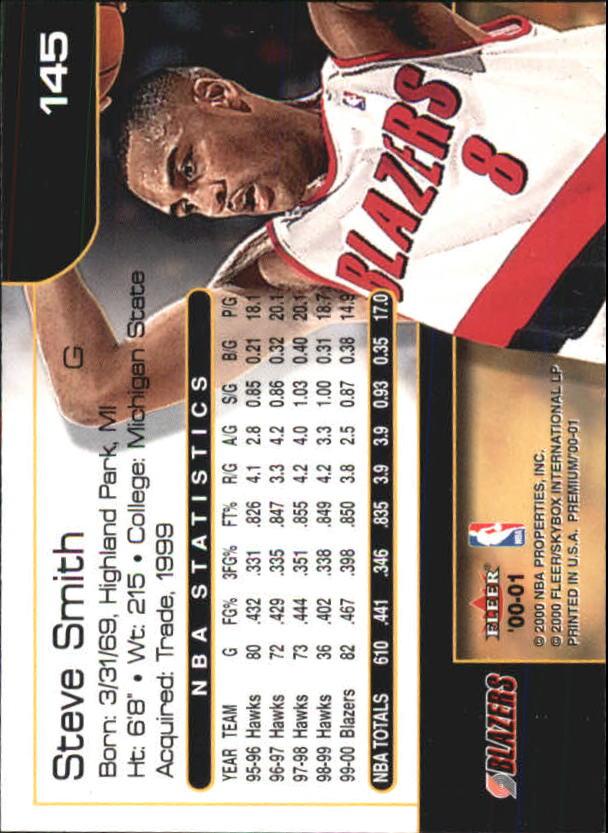 2000-01-Fleer-Premium-Basketball-Cards-Pick-From-List thumbnail 285