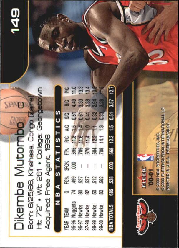 2000-01-Fleer-Premium-Basketball-Cards-Pick-From-List thumbnail 293
