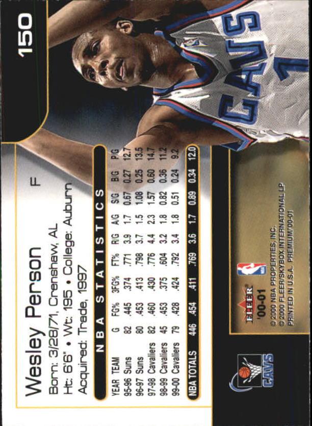 2000-01-Fleer-Premium-Basketball-Cards-Pick-From-List thumbnail 295