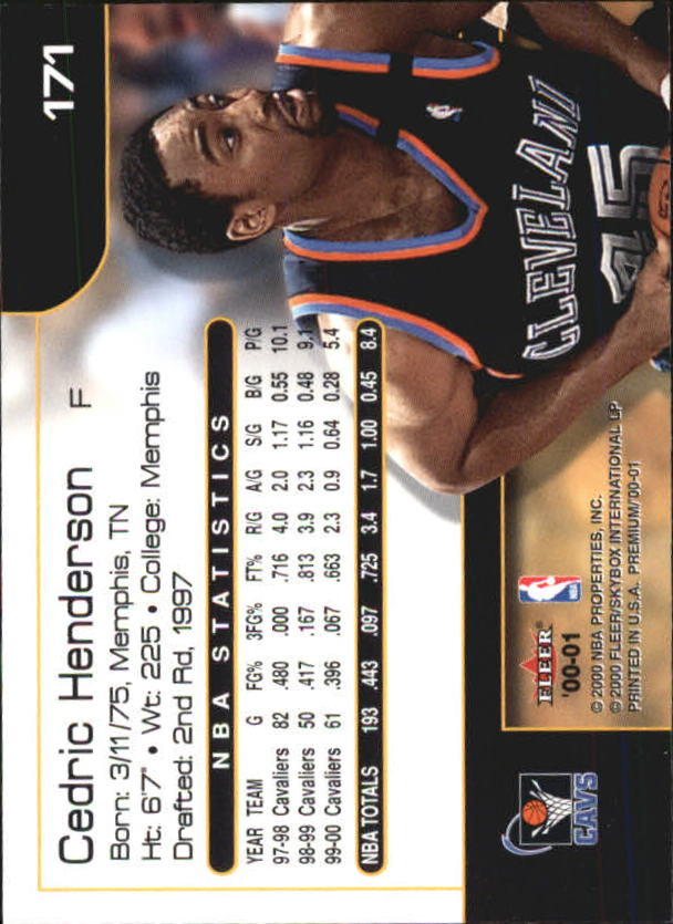 2000-01-Fleer-Premium-Basketball-Cards-Pick-From-List thumbnail 335