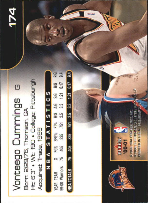 2000-01-Fleer-Premium-Basketball-Cards-Pick-From-List thumbnail 341