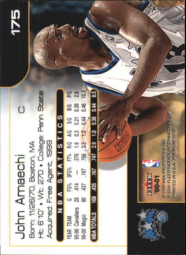 2000-01-Fleer-Premium-Basketball-Cards-Pick-From-List thumbnail 343