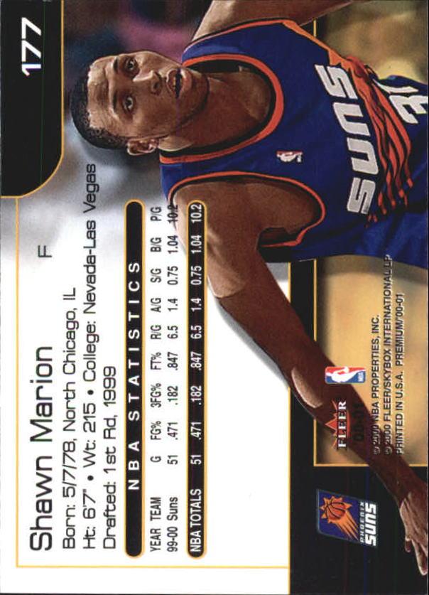 2000-01-Fleer-Premium-Basketball-Cards-Pick-From-List thumbnail 347