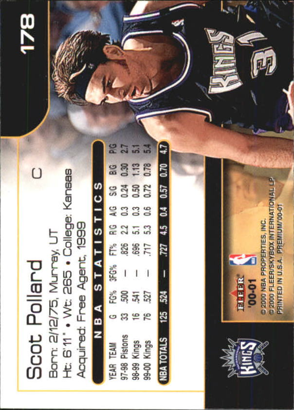 2000-01-Fleer-Premium-Basketball-Cards-Pick-From-List thumbnail 349
